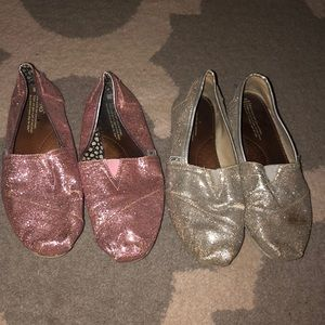 Lots of Sparkly Toms